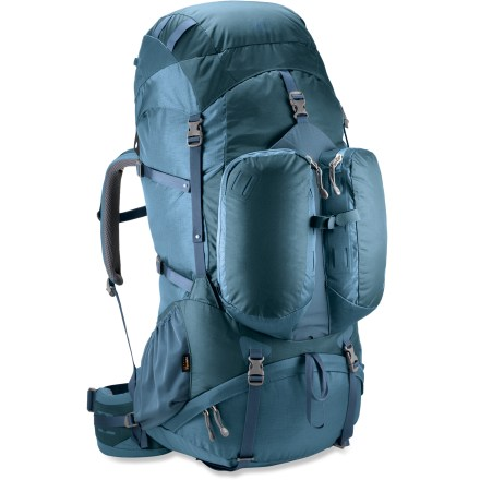 Camp and Hike Welcome to the most comfortable and user-friendly extended-trip pack in the REI brand. The women's XT 75 utilizes the latest design ideas and materials to deliver a top-of-the-line performance pack. - $150.93