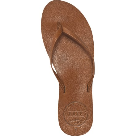 Surf The Reef Leather Uptown flip-flops are the perfect choice for any sun-filled occasion. - $10.83