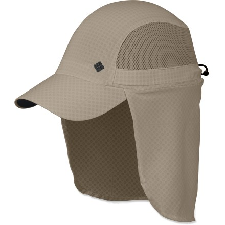 Don't let the hot sun stop you from having fun. The Columbia Coolhead(TM) Cachalot hat provides excellent UPF protection and features Omni-Freeze(R) Zero cooling fabric to keep you comfortable. - $25.93