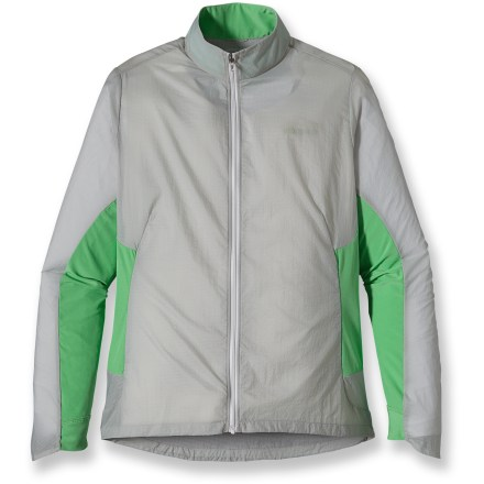 Fitness Wear the lightweight Patagonia Nine Trails jacket for comfortable training sessions in cool, drizzly weather. - $48.83
