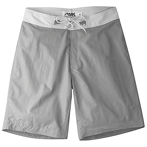 Surf Free Shipping. Mountain Khakis Sup Board Short DECENT FEATURES of the Mountain Khakis Sup Board Short Super High Density Weave 80/20 Durable Water Repellent UVA-UVB 50+ Quick-dry, Lightweight and Packable Inseam Action Gusset Triple Stitching Velco Waistband with Tie Closure Velcro Fly Closure Back Pocket with Velcro Closure, Elastic Key Cord + Drain Hole Casual Fit The SPECS Waist: 28-44 E, 31-35 O Outseam: 21in. Body: 3.7 oz 100% Nylon Lining: 100% Nylon Mesh Drop Lining for Comfort and Anti- Chafe - $69.95