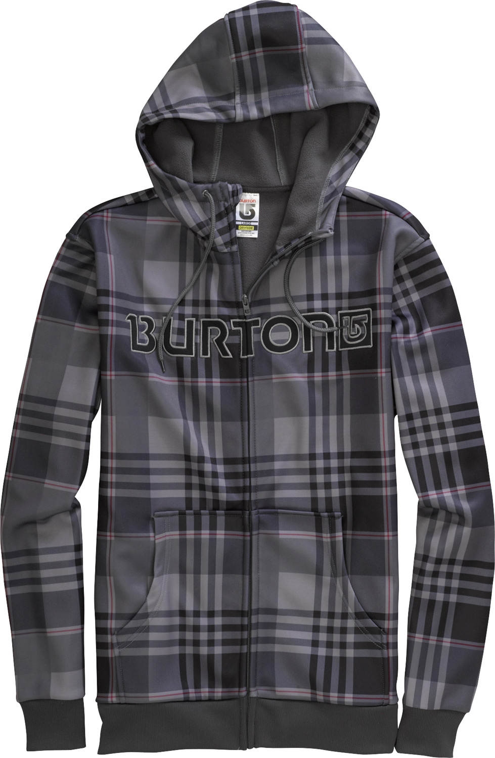 Snowboard The last hoodie you'll ever need. Ride, hike or hang without succumbing to the chilly side effects of cotton.Key Features of the Burton Bonded Hoodie: DRYRIDE Thermex Bonded Hard-Surface Fleece with Brushed Backer Kangaroo Hand Warmer Pockets Ribbed Cuffs and Hem Hidden Side Seam Stash Pocket Word Marker or Process Logo Graphics S-XL - $39.95