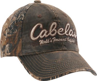 Hunting A bit of outdoor attitude in an eight-panel, midprofile structured fit decked out in authentic camo. Pre-curved brim and adjustable hook-and-loop closure. 52/40 polyester/cotton blend. One size fits most. Imported.Camo pattern/color: Realtree AP, Realtree XTRA. Type: Caps. Size: One Size Fits Most. Camo Pattern: REALTREE XTRA. Size One Size Fits Most. Color Realtree Xtra. - $19.99