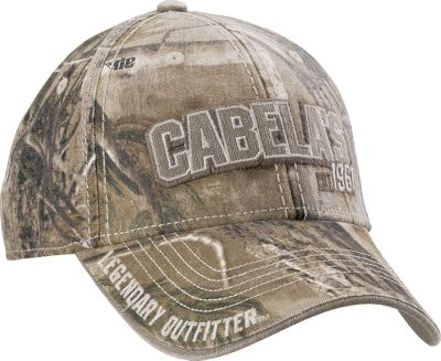 Hunting Show your passion for the outdoors in authentic camo with midprofile styling and a pre-curved bill. Faded coloring for a classic, broken-in look and feel. Brass adjustment and tuck-away closure. 60/40 cotton/polyester blend. One size fits most. Imported.Camo patterns: Realtree AP, Realtree XTRA. Size One Size Fits Most. Color Realtree Xtra. - $6.88