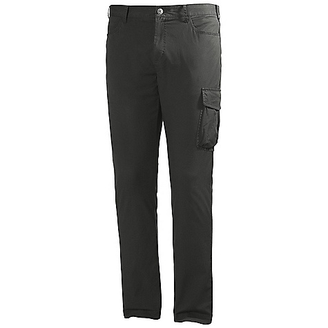 Free Shipping. Helly Hansen Men's Transat Pant DECENT FEATURES of the Helly Hansen Men's Transat Pant Cotton stretch plain weave Lightweight Cotton 160g/m2 The SPECS Fitting: Regular fit Fabric: 98% Cotton, 2% Elastane This product can only be shipped within the United States. Please don't hate us. - $69.95
