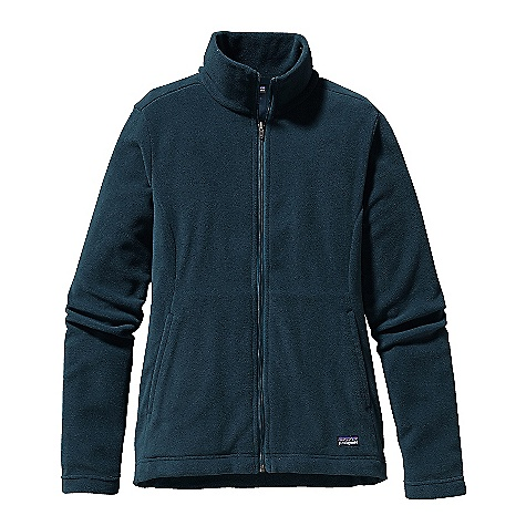 On Sale. Free Shipping. Patagonia Women's Micro-D Jacket DECENT FEATURES of the Patagonia Women's Micro-D Jacket Made of recycled micro denier polyester fleece Hand warmer pockets on forward side seams Full-zip jacket princess seaming adds shape Hip length The SPECS Regular fit Weight: 8.8 oz / 249 g Fabric: 4.7-oz 100% micro denier polyester (85% recycled) fleece This product can only be shipped within the United States. Please don't hate us. - $59.99