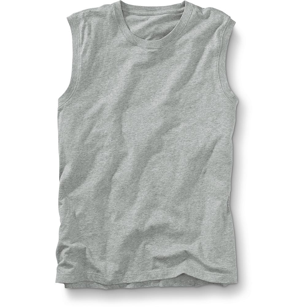Entertainment Eddie Bauer Classic Fit Sleeveless Legend Wash T-Shirt - Long on quality and comfort, our substantial, sturdy tee delivers outstanding value. 100% cotton jersey is garment-washed and preshrunk for softness and a sure fit. Imported. - $17.95