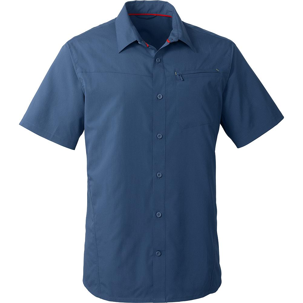 Entertainment Eddie Bauer Traverse Shirt - This shirt is all about comfort and performance. The stretch-woven polyester fabric wicks moisture away from your skin to keep you dry, whether you're on the trail or in town. It also features UPF 50+ sun protection, so is ideal all through the warmer months. It's a great travel option-lightweight and wrinkle-resistant, packing easily and drying quickly if you need to wash it on the road. - $39.99