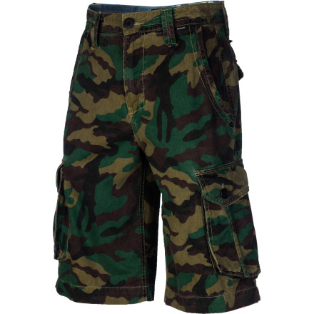 Surf The super-casual Hurley Colonel Cargo Short somehow makes AWOL look good. Hurley expertly blended military styling with a pre-worn casual look that won't fail you for the best 6 months of the year. - $49.45
