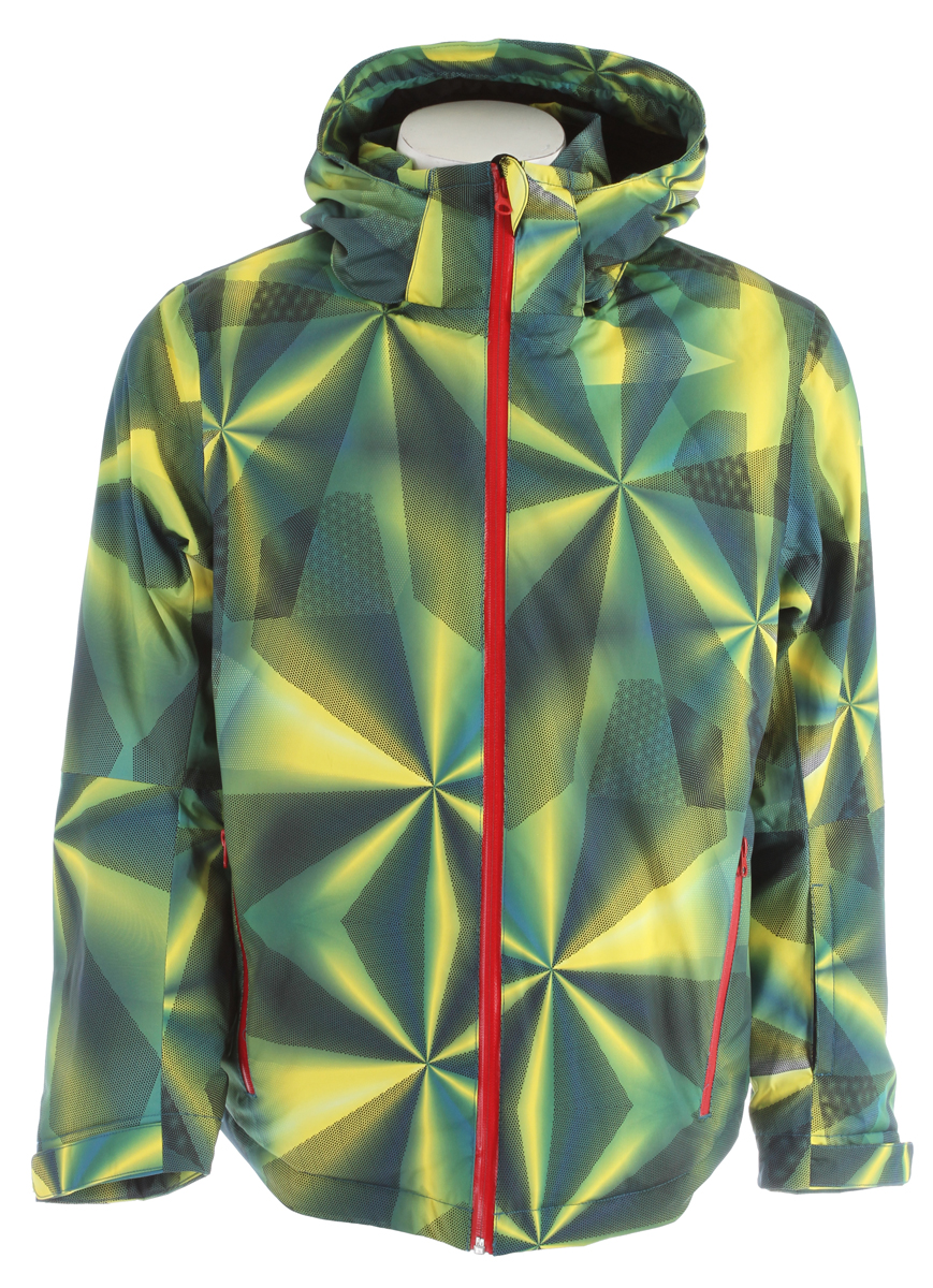 Ski Key Features of the Volkl Silver Prism Ski Jacket: 10,000mm h20 waterproof 10,000mmg/m2/24hr Breathability 2 Way stretch Cpi-Insulation - $209.95