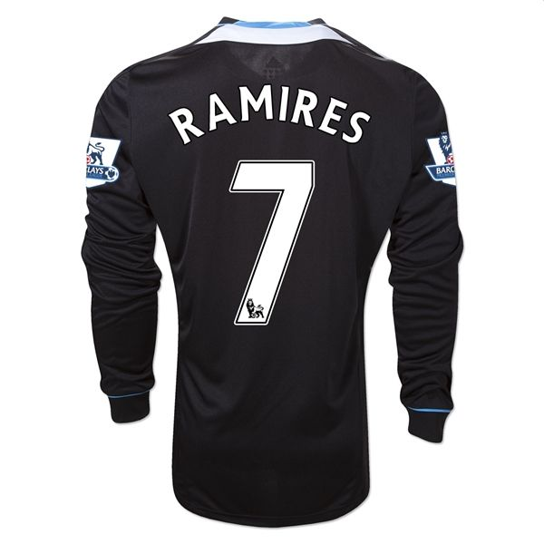 Entertainment Youth RAMIRES Chelsea Away Long Sleeve Soccer Jersey 2011/2012