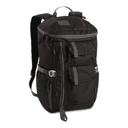 Entertainment The Watchtower daypack from Jansport is streetwise and ready for action. It carries books and notebooks, your favorite hoodie and electronics, and any other daily wares you can't do without. - $44.93