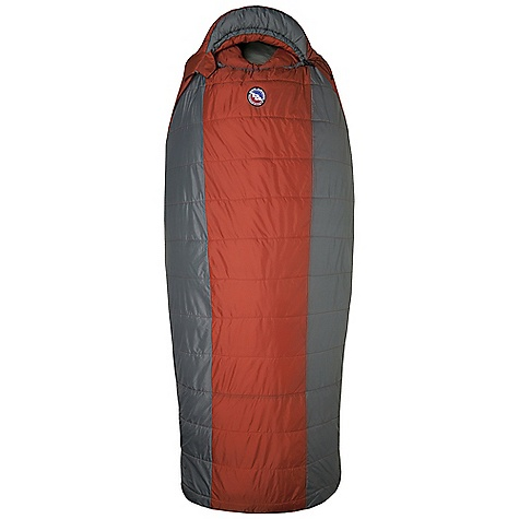 Camp and Hike Free Shipping. Big Agnes Whiskey Park 0 Degree Sleeping Bag DECENT FEATURES of the Big Agnes Whiskey Park 0 Degree Sleeping Bag Integrated full pad sleeve Rectangular shaped bag Pillow Pocket Liner loops 70in./178cm YKK #8 zipper Mate together left and right zip bags Nylon stuff sack No-draft collar, No-draft wedge, No-draft zipper The SPECS Temperature Rating: 20deg F / -7deg C Fit Up To: 6'6in. / 198 cm Pad Size: 25 x 78in. / 64 x 198 cm Fill Type: Quallofil Fill Weight: 48 oz / 1361 g Bag Weight: 5 lbs 11 oz / 2863 g Stuff Sack Size: XXL: 12 x 23in. / 31 x 58 cm Compressed Size: 11 x 12in. / 28 x 31 cm Nylon rip-stop shell fabric Cotton/Polyester lining Thermolite Quallofil insulation - $179.95