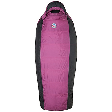 Camp and Hike Free Shipping. Big Agnes Women's Slavonia 30 Degree Sleeping Bag DECENT FEATURES of the Big Agnes Women's Slavonia 30 Degree Sleeping Bag Integrated full pad sleeve Rectangular shaped bag Extra 2in. /5cm of girth in hip area Extra 2in. /5cm of length in foot box Pillow Pocket Zippered stash pocket at shoulder Liner loops 60in. /152cm YKK #8 zipper - Petite bags 70in./178cm YKK #8 zipper - Regular bags Mate together left and right zip bags Mesh storage sack and nylon stuff sack No-draft collar, No-draft wedge, No-draft zipper The SPECS Temperature Rating: 30deg F / -1deg C Stuff Sack Size: L: 9 x 20in. / 23 x 51 cm Fill Type: Integrity Nylon rip-stop fabric A-Shingo construction A-Flex construction: Lulu, Brooklyn Intergrity 97% recycled insulation The SPECS for Petite Fit Up To: 5'6in. / 168 cm Fill Weight: 18 oz / 510 g Bag Weight: 2 lbs 13 oz / 1276 g Pad Size: 20 x 66in. / 51 x 168 cm Compressed Size: 9 x 8in. / 23 x 20 cm The SPECS for Regular Fit Up To: 5'10in. / 178 cm Fill Weight: 20 oz / 567 g Bag Weight: 3 lbs 2 oz / 1417 g Pad Size: 20 x 72in. / 51 x 183 cm Compressed Size: 9 x 8.5in. / 23 x 22 cm - $149.95