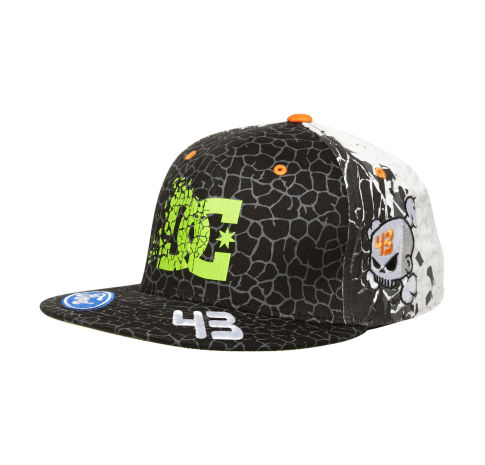 Skateboard MENS KEN BLOCK CRACKED HAT   $40.00