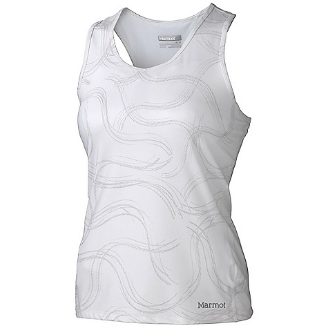 Fitness Free Shipping. Marmot Women's Crest Tank DECENT FEATURES of the Marmot Women's Crest Tank Soft, Breathable, Stretch Performance Knit Fabric Polygiene Technology Finish which Gives Permanent Odor Management Ultraviolet Protection Factor (UPF) 50 Stretch for Increased Mobility 3 Piece Interior Shelf Bra with Mesh Paneling for Medium Impact Soft Brushed Interior Elastic Band Mesh Panels for Breathability Flat-Locked Seams for Added Comfort Racer Back Tag-Free Neckline Reflective Logos The SPECS Weight: 5.9 oz / 167.3 g Fit: Athletic Fit Material: 87% Polyester, 13% Elastane Jersey with Polygiene Technology 6.4 oz/yd, 100% Polyester Jacquard Mesh with Polygiene Technology 3.9 oz/yd - $57.95