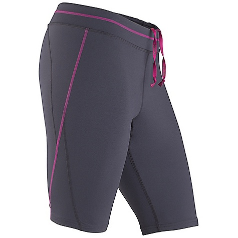 Free Shipping. Marmot Women's Trail Breeze Short DECENT FEATURES of the Marmot Women's Trail Breeze Short Breathable, Stretch, Light Weight Performance Nylon Fabric Ultraviolet Protection Factor (UPF) 30 Quick-Drying and Wicking Coolmax interior gusset liner Compression fit for increased performance Flat-Locked Seams for Added Comfort Interior Key Pocket Interior Logo Drawcord for Secure Fit Reflective Logos The SPECS Weight: 6 oz / 170.1 g Material: 77% Nylon Tactel, 23% Elastane Single Jersey 7.0 oz/yd Fit: Athletic Inseam: 10.5in. - $57.95