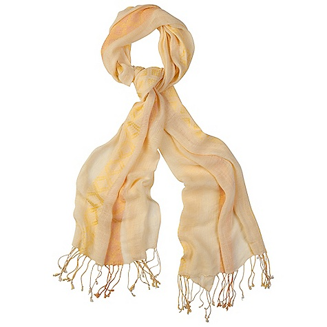 Prana Women's Samantha Scarf DECENT FEATURES of the Prana Women's Samantha Scarf Cotton woven scarf Fringe detailing at edges Long: 19in. / 48.26 cm, Wide: 70in. / 177.8 cm The SPECS 100 Cotton - $31.95