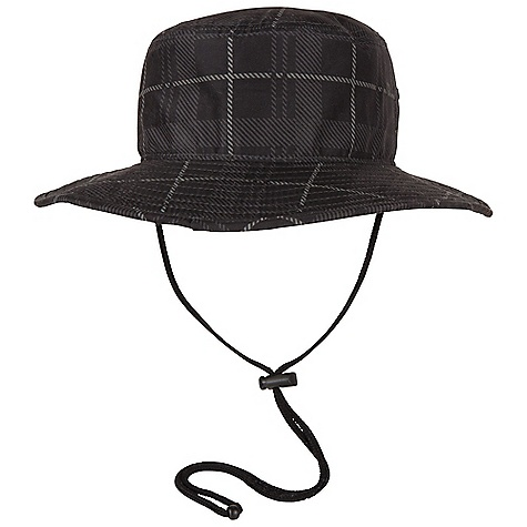 Prana Sean Sun Hat DECENT FEATURES of the Prana Sean Sun Hat Lightweight performance sunhat Plaid fabrication Quick drying Adjustable strap Standard fit The SPECS 100 Polyester - $31.95