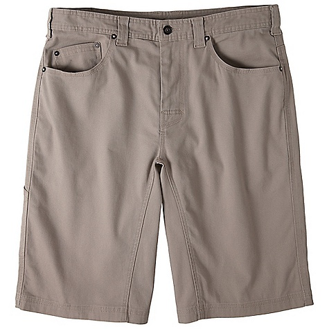 On Sale. Free Shipping. Prana Men's Bronson 11IN Short FEATURES of the Prana Men's Bronson 11IN Short Stretch canvas with peached finish 5-Pocket styling Reinforced rivet detailing Triple needle stitching for durability Full inseam gusset Stretch fabrication extends, expands and contracts to move with you allowing for ultimate flexibility during any sport, activity or movement Fibers which meet regulations by the USDA National Organic program, ensuring highest environmental agricultural practices - $39.99