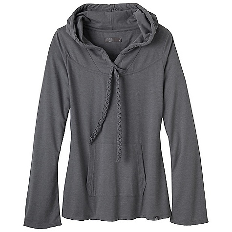 Free Shipping. Prana Women's Tanya Top DECENT FEATURES of the Prana Women's Tanya Top Lightweight heather jersey Longsleeve adjustable hoodie with kangaroo pocket Slight bell sleeves The SPECS 60 Cotton / 40 Polyester - $54.95