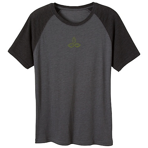 Prana Men's Carabiner Tee DECENT FEATURES of the Prana Men's Carabiner Tee Carabiner created from intricate designs Lightweight heathered jersey Waterbased screenprint Standard Fit The SPECS 60 Cotton / 40 Polyester - $34.95