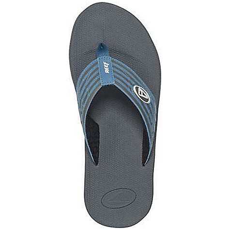 Surf Reef Men's Phantom Prints Sandals DECENT FEATURES of the Reef Men's Phantom Prints Sandals Soft, comfortable, water friendly synthetic nubuck upper with air mesh lining Contoured compression molded EVA footbed with anatomical arch support Durable and grippy molded high density EVA outsole - $32.95