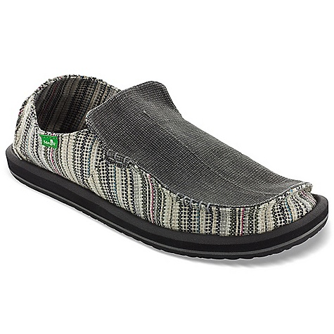 Entertainment Free Shipping. Sanuk Men's Funk Shway Shoe DECENT FEATURES of the Sanuk Men's Funk Shway Shoe Super Soft, High Rebound, Molded EVA Footbed featuring AEGIS Antimicrobial additive Happy U Rubber Sponge Outsole Handmade Heavy Textile Upper Featuring New Toe Seam Construction Unique Textile Liner Vegan and Vegetarian - $64.95