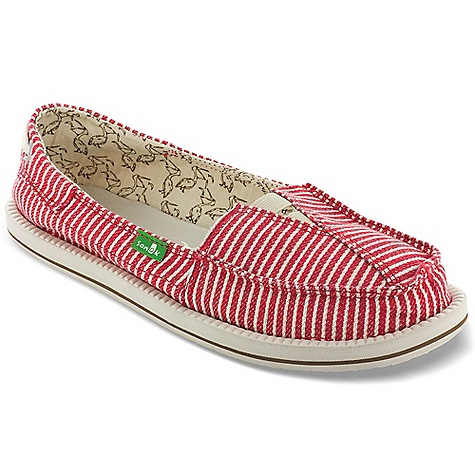 Entertainment Free Shipping. Sanuk Women's Castaway Shoe DECENT FEATURES of the Sanuk Women's Castaway Shoe Super Soft, High Rebound, Molded EVA Footbed featuring AEGIS Antimicrobial additive Happy U Rubber Sponge Outsole Handmade Short Vamp Upper featuring Overlapping Fabric Design in.Boat Shoein. Inspired Lace Detail Vegan and Vegetarian - $54.95