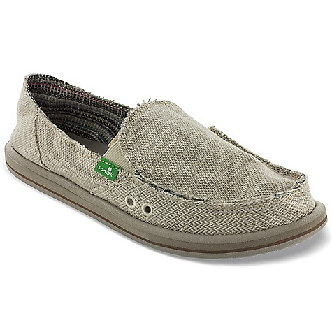 Entertainment Free Shipping. Sanuk Women's Donna Hemp Shoe DECENT FEATURES of the Sanuk Women's Donna Hemp Shoe Hemp Upper Organic Cotton Lining Rubber Outsole Lightweight in.Vulc-Litein. Footbed featuring EVA Sockliner Vegan and Vegetarian - $54.95