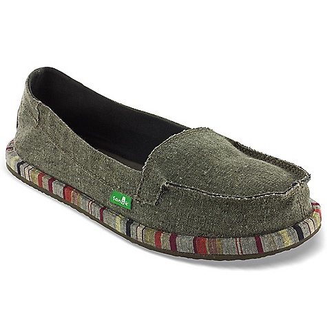 Entertainment Free Shipping. Sanuk Women's Shorty Wrapped Shoe DECENT FEATURES of the Sanuk Women's Shorty Wrapped Shoe Super Soft, High Rebound, Molded EVA Footbed featuring AEGIS Antimicrobial additive Happy U Rubber Sponge Outsole New Sanuk Custom Midsole Wrap Handmade Short Vamp Upper with Canvas Liner Vegan and Vegetarian - $59.95