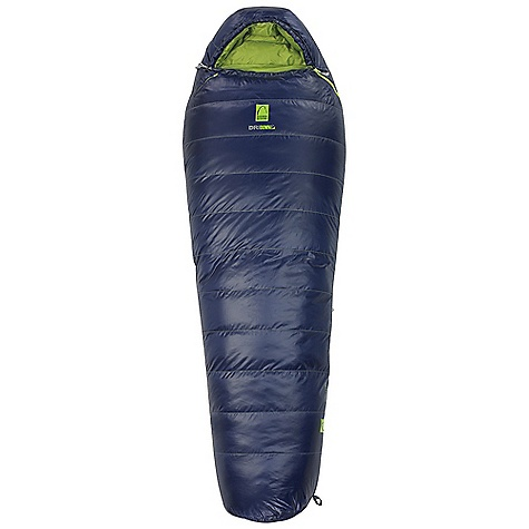 Camp and Hike Free Shipping. Sierra Designs Zissou 6 Sleeping Bag DECENT FEATURES of the Sierra Designs Zissou 6 Sleeping Bag Ergonomically shaped footbox Unique in.cordedin. anti-snag zipper prevents snags and eliminates drafts Snag-free zipper tracks Draw cord at collar Draft collar Ergonomic hood Zipper draft tube Pad locks EN Tested Includes stuff and storage sacks The SPECS EN Comfort Limit: 19oF / -7oC EN Lower Limit: 6oF / -14oC Insulation: 700 Fill-Power DriDown Shell material: 30D Polyester Micro-Ripstop Liner material: 30D Polyester Size Regular: Shape: Mummy Fits to: 6 ft / 183 cm Length: 78 in / 198 cm Zipper Side: Left Shoulder girth: 62 in / 157 cm Hip girth: 58 in / 147 cm Footbox: 40 in / 102 cm Fill weight: 30.5 oz / .86 kg Total weight: 3 lbs 1 oz / 1.4 kg Stuffed diameter: 9 in / 23 cm Stuffed length: 17 in / 43 cm Size Long: Shape: Mummy Fits to: 6 ft 6 in / 198 cm Length: 84 in / 213 cm Zipper Side: Left Shoulder girth: 64 in / 163 cm Hip girth: 60 in / 152 cm Footbox: 42 in / 107 cm Fill weight: 32.5 oz / .92 kg Total weight: 3 lbs 4 oz / 1.5 kg Stuffed diameter: 9 in / 23 cm Stuffed length: 17 in / 43 cm - $319.95