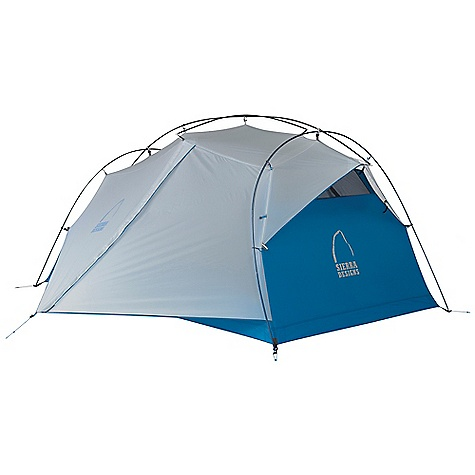 Camp and Hike Free Shipping. Sierra Designs Flash 2 Tent DECENT FEATURES of the Sierra Designs Flash 2 Tent Superseal floor Taped seams Reflective door trim and guy outs Hybrid design, double wall/single wall Ultralight d-door 2 Doors, 2 vestibules Vent Ultralight clip Jakes foot pole attachment Ball cap connector Swivel hub (h,c, h/c) Mesh window External poles Free standing The SPECS Season: 3 Capacity: 2 Person Trail Weight: 3 lbs 15 oz / 1.79 kg Packed Weight: 4 lbs 6 oz / 1.98 kg Packed Dimension: 20 x 6in. / 51 x 15 cm Number of Doors: 2 Interior Area: 29.5 square feet Vestibule Area: 8.25 + 8.25 square feet Peak Height: 39in. Floor: 40d nylon, 3000 mm Body: 20d nylon Fly: 40d nylon, 1500 mm Poles: DAC Featherlite NSL - $339.95