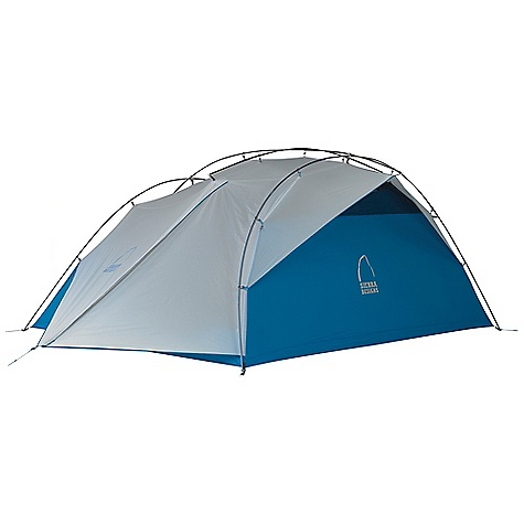 Camp and Hike Free Shipping. Sierra Designs Flash 4 Tent DECENT FEATURES of the Sierra Designs Flash 4 Tent Superseal floor Taped seams Reflective door trim and guy outs Hybrid design, double wall/single wall Ultralight d-door 2 Doors, 2 vestibules Vent Ultralight clip Jakes foot pole attachment Ball cap connector Swivel hub (h,c, h/c) Mesh window External poles Free standing The SPECS Season: 3 Capacity: 4 Person Trail Weight: 5 lbs 12 oz / 2.61 kg Packed Weight: 6 lbs 6 oz / 2.89 kg Packed Dimension: 22 x 6in. / 56 x 15 cm Number of Doors: 2 Interior Area: 55.5 square feet Vestibule Area: 8.5 + 8.5 square feet Peak Height: 46in. Floor: 40d nylon, 3000 mm Body: 20d nylon Fly: 40d nylon, 1500 mm Poles: DAC Featherlite NSL - $449.95