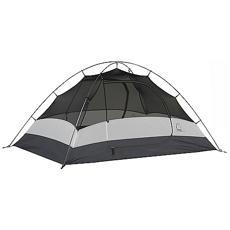 Camp and Hike Free Shipping. Sierra Designs Zilla 2 Tent DECENT FEATURES of the Sierra Designs Zilla 2 Tent PVC-free seam tape Superseal floor Reflective door trim and guy outs Hanging pockets D doors/drop doors 2 Doors, 2 vestibules SD swift clip Grommet pole attachment Locking pole tips Swivel hub (h,c, h/c) Free standing The SPECS Season: 3 Capacity: 2 Person Trail Weight: 4 lbs 10 oz / 2.1 kg Packed Weight: 5 lbs 4 oz / 2.86 kg Packed Dimension: 21 x 6in. / 53 x 15 cm Number of Doors: 2 Interior Area: 31 square feet Vestibule Area: 8.75 + 8.75 square feet Peak Height: 40in. Floor: 70D Nylon, 3000mm Body: 68d Polyester Dye Free Fly: 75D Polyester, 1500 mm Poles: DAC Press Fit - $169.95