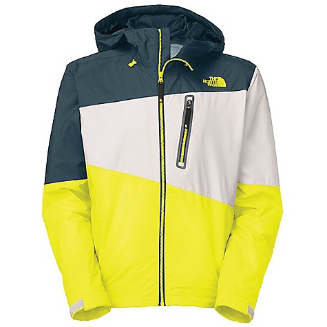 Fitness Free Shipping. The North Face Men's Shifter Jacket DECENT FEATURES of The North Face Men's Shifter Jacket Bike-helmet-compatible, adjustable fixed hood Mesh-lined zip chest pocket Internal media pocket Mesh-lined zip hand pockets Mesh-lined zip back vents Adjustable elliptical hem for rear coverage Reflective logos Hook-andloop adjustable cuffs The SPECS Average Weight: 20.46 oz / 580 g Center Back Length: 31in. 40D 84 g/m2 (2.5 oz/yd2) HyVent 2L-100% nylon plain weave This product can only be shipped within the United States. Please don't hate us. - $124.95