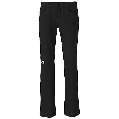Free Shipping. The North Face Women's Nimble Pant DECENT FEATURES of The North Face Women's Nimble Pant TNF Apex Aerobic fabric, the most stretchable of all Apex fabrics, and wind permeability rated at 10-15 CFM Brushed tricot lined inner waistband Two hand pockets Secure-zip rear pocket Zip fly, snap closure Active fit The SPECS Average Weight: 14 oz / 400 g Inseam: regular: 32in. 90D 246 g/m2 (8.68 oz/yd2) 90% polyester, 10% elastane four-way stretch TNF Apex Aerobic soft shell with DWR This product can only be shipped within the United States. Please don't hate us. - $79.95