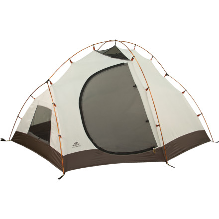 Camp and Hike Whether you're flying solo or bringing along two friends, the ALPS Mountaineering Jagged Peak 3 Tent keeps you, your gear, and your party safely and comfortably sheltered. - $244.97