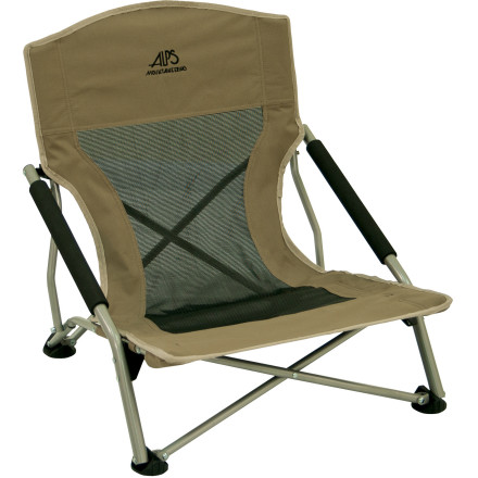 Camp and Hike Standing around a campfire is great, but why stand when you can lounge like a medieval lord' The ALPS Mountaineering Rendezvous Chair instantly transforms camp into a luxurious, velour-ensconced palace of delights. OK, that's a bit of an exaggeration, but it's definitely more comfortable than sitting on the ground. - $35.96