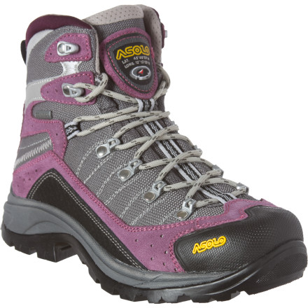 Camp and Hike The Asolo Women's Drifter GV Backpacking Boot has thought of everything. Lighter materials are used in areas that aren't exposed to much abrasion, while areas like the toe-box, heel, and sole are reinforced for trail protection. Underneath it all, the Gore-Tex Performance Comfort membrane keeps your foot dry all day and all week. - $195.46