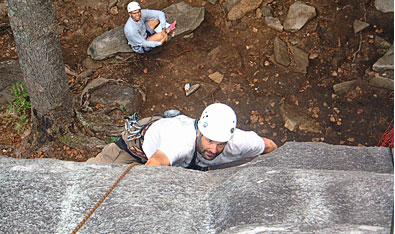 Climbing North Carolina's Pisgah National Forest - amazing rock climbing areas