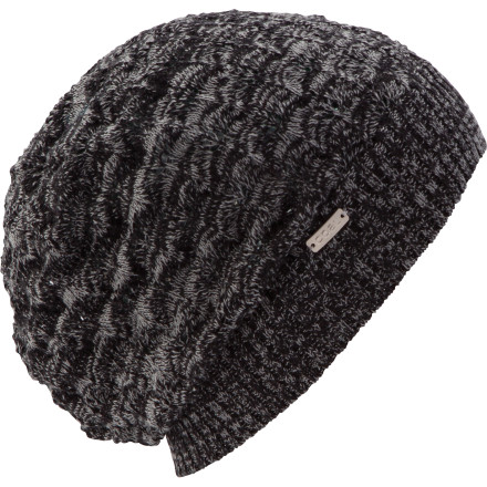 The Coal Women's Dory Beanie equips you with the crossover style that goes straight from the hemp convention to the mountaintop lodge to the renaissance fair, and back again. A unique cotton weave keeps you comfortable while a nickel metal label adds a flash of style. - $27.95
