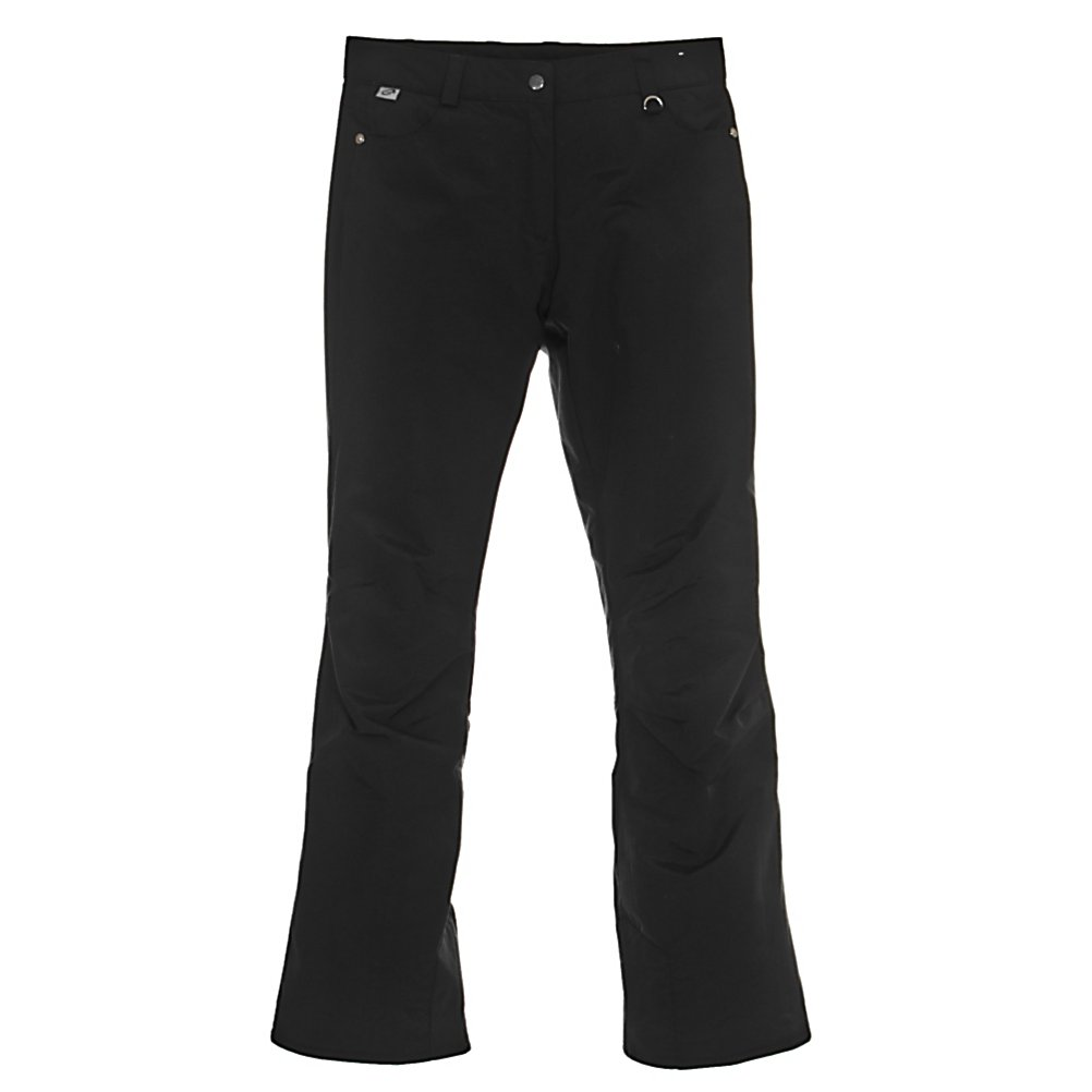 Ski Obermeyer Sundance Long Womens Ski Pants - Warm, comfortable and cute, the Obermeyer Sundance Ski Pants offers soft Permaloft Needlepunch Insulation to keep your days on the slopes as comfy as possible. The lightweight insulation is water-resistant and adjusts to the body's position. HydroBlock on the fabric ensures that these Sundance pants are both waterproof and breathable so you can stay dry and warm even when the weather outside is chilly and snowy. The Jean-style offers a modern look whole retaining all the features of a quality snow pant you need when you're on the mountain. Features: Zip Front Fly, Ski Pass D-Ring. Exterior Material: Nylon with HydroBlock V, Softshell: No, Insulation Weight: 60 Grams, Taped Seams: Critically Taped, Waterproof Rating: 5,000mm, Breathability Rating: 5,000g, Full Zip Sides: No, Thigh Zip Venting: No, Suspenders: None, Articulated Knee: Yes, Low Rise: No, Warranty: Lifetime, Race: No, Waterproof: Moderately Waterproof (5000mm-19,999mm), Breathability: Moderate Breathability (4000g-8999g), Use: Ski, Type: Insulated, Cut: Regular, Lining Material: Permaloft Needlepunch, Waist: Beltloops, Pockets: 3-4, Model Year: 2012, Product ID: 235464 - $59.93