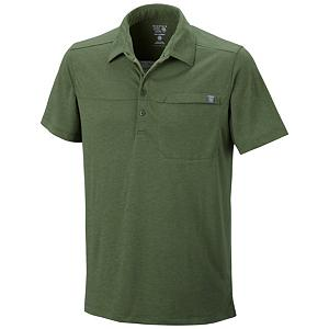 Camp and Hike Mountain Hardwear Frequentor Short Sleeve Polo Shirt - The Mountain Hardwear Frequentor Polo Shirt is all about comfort and keeping you feeling good while you display some style. Whether going on a light hike or spending a day traveling, this shirt will keep you in good shape. Designed with a Dri-Release fabric, you'll have blended yarns wicking away moisture so you stay cool and dry. This material also minimizes odor which we all know can plague the tail end of a travel day or day when you're out in the sun and heat. Style lines and a chest pocket to keep something small close by make this Mountain Hardwear Polo Frequentor Shirt a must have for both style and function. . Hood Type: None, Material: Karry-On Slub Jersey (92% Polyester, 8% Wool), Fleece Weight: None, Category: Light-Weight, Hood: No, Warranty: Lifetime, Battery Heated: No, Closure Type: Button Up, Wind Protection: No, Type: Shirt, Weatherproof: No, Material: Wool/Synthetic Blend, Pockets: 1-2, Wicking Properties: Yes, Sleeve Type: Short Sleeve, Water Resistant: No, Model Year: 2013, Product ID: 304695, Model Number: OM5236 352 M, GTIN: 0786559853563 - $24.96