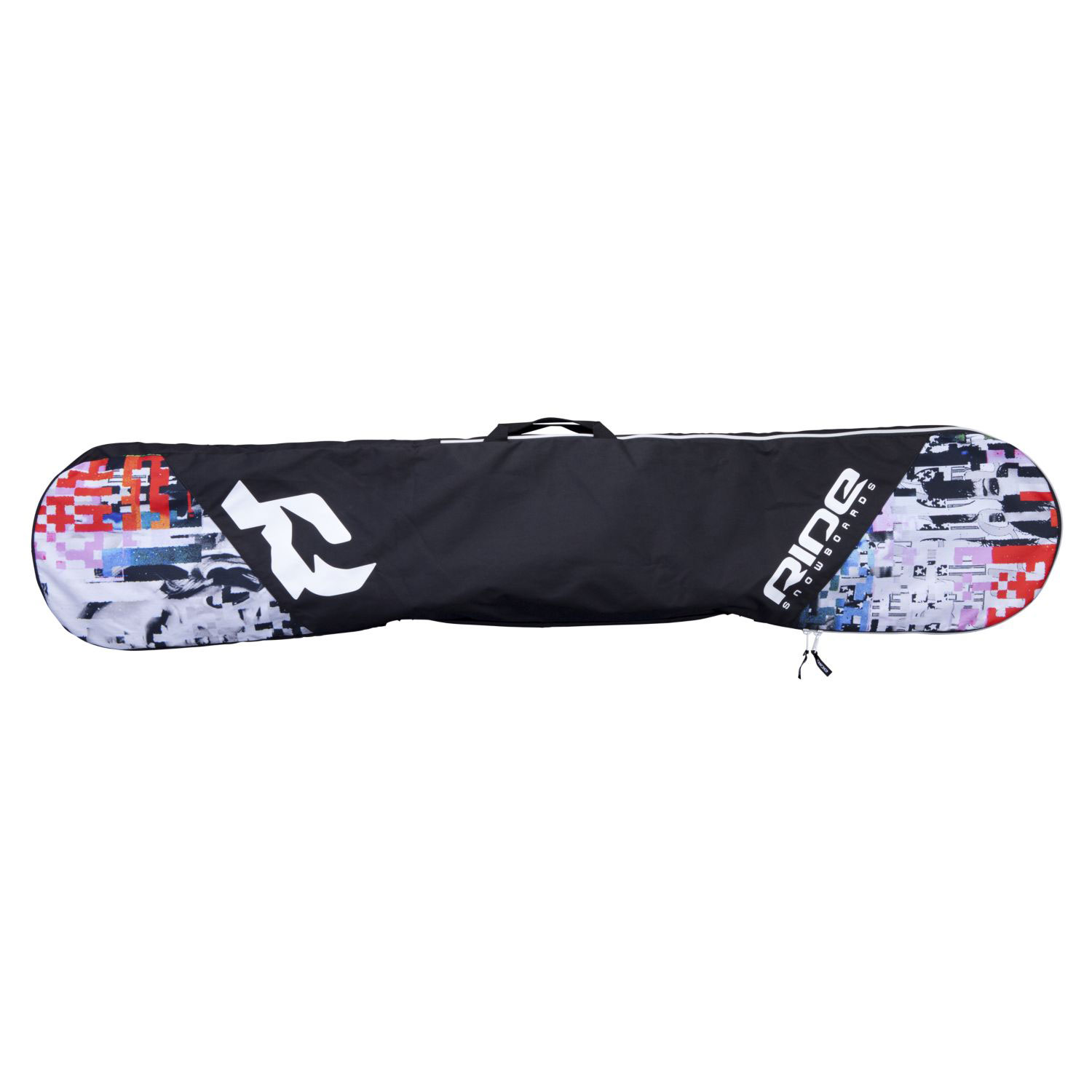 Snowboard Key Features of the Ride Unforgiven Board Sleeve Bag: Minor Abrasion Board Protection Secure Zipper Closure Center Tow Handle - $34.95