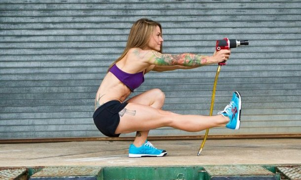 Motorsports Christmas Abbott is set to become a pit crew member in NASCAR. (Poetic Edge photography)