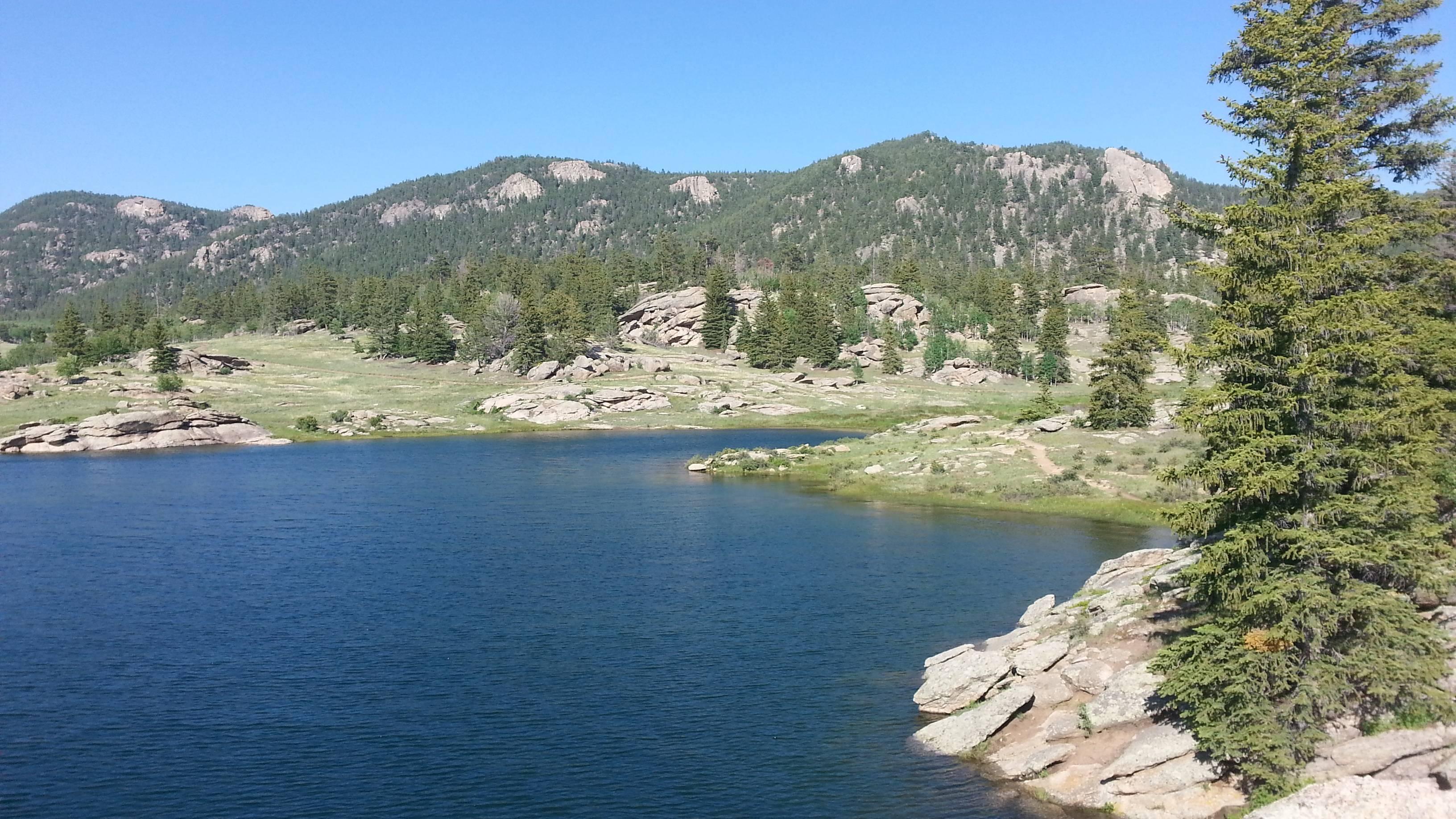 I heard you guys like beautiful fishing spots fishing h for Fishing lakes in colorado