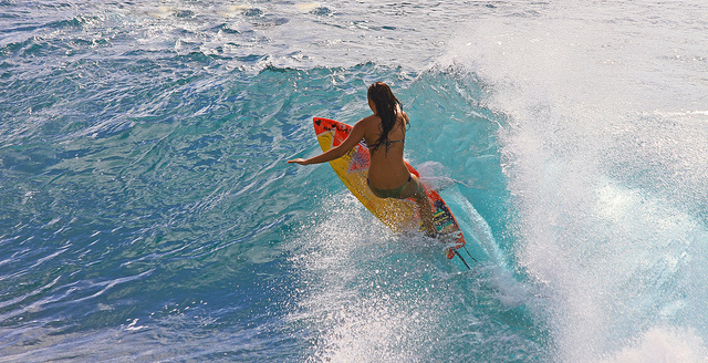 Surf ripping