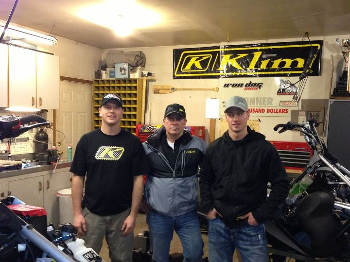Entertainment Stopped by KLIM sponsored riders Chris Olds and Mike Morgans shop to check out Iron Dog preparations. What these guys do to get ready for this race is amazing.