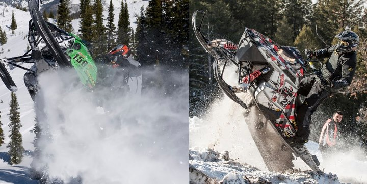 Climbing David McClure 150 and Toby Sheppard pouring it to the throttle.  Who's ready for some hill climb action?  Make sure you put the Snow Devils World Championships in Jackson Hole on your calendar:  March 21-24.  A complete schedule of the Rocky Mountain Snow